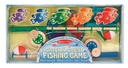 Balık Tutma Oyunu Yakala ve Say 3 Yaş+