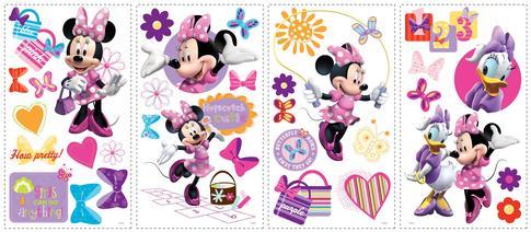 Duvar Stickerı Minnie Kurdele