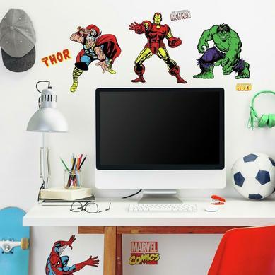 Duvar Stickerı Marvel Karaketleri