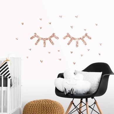 Duvar Stickerı Sihirli Kirpikler