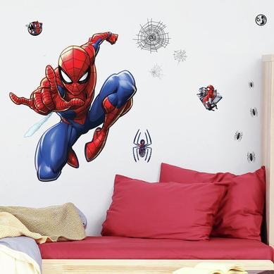 Büyük Boy Duvar Stickerı Spider Man