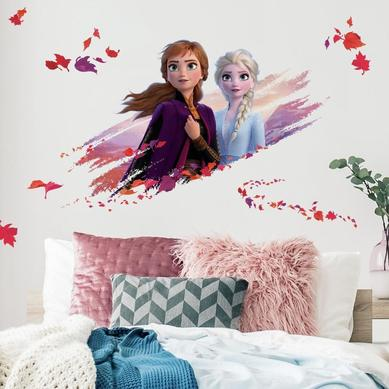 Büyük Boy Duvar Stickerı Frozen 2 Elsa&Anna